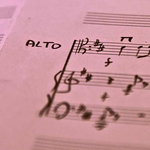 Alto et piano