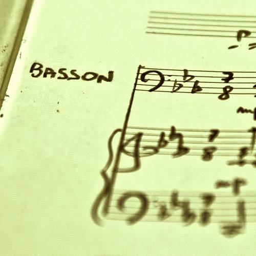 Arrangements et transcriptions basson