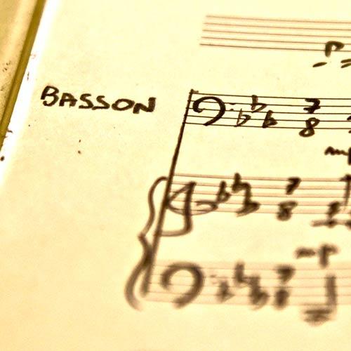 Pédagogie études basson