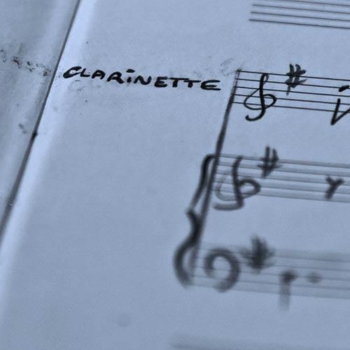 Clarinette solo