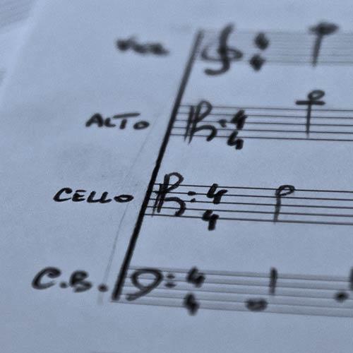 Grands ensembles de cordes