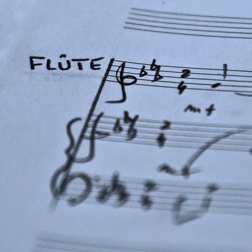 Flûte solo