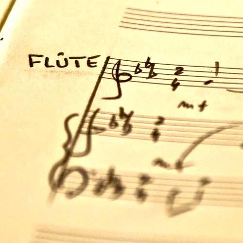 Pédagogie études flûte