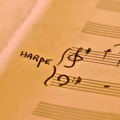 Harpe solo