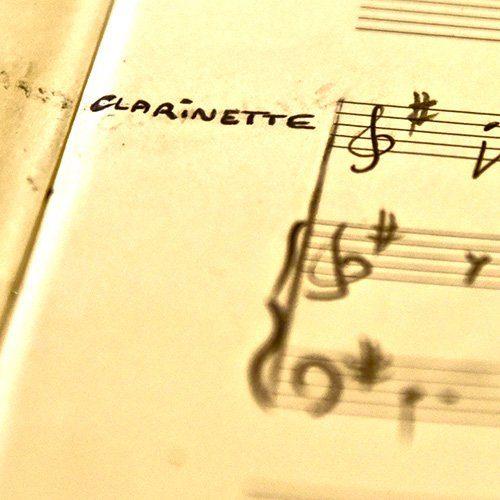 Arrangements et transcriptions clarinette