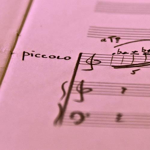 Piccolo et piano