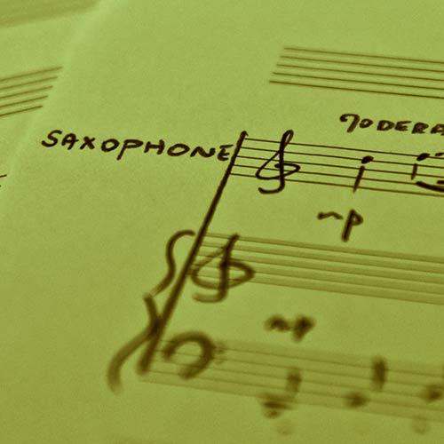 Pédagogie études Saxophone