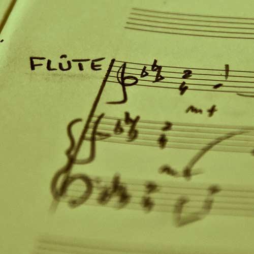 3 flûtes et piano