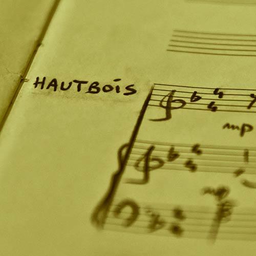 Pédagogie études Hautbois
