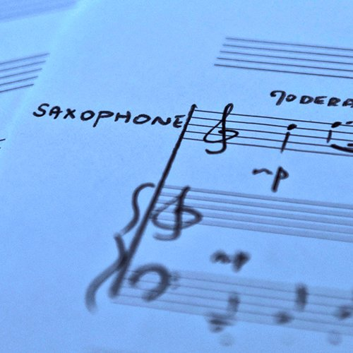 Arrangements et transcriptions saxophone
