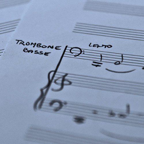 Trombone basse solo