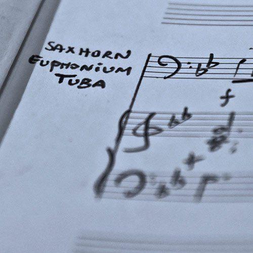 Saxhorn euphonium tuba solo