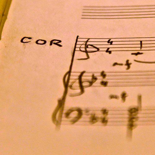 2 ou 3 cors et piano