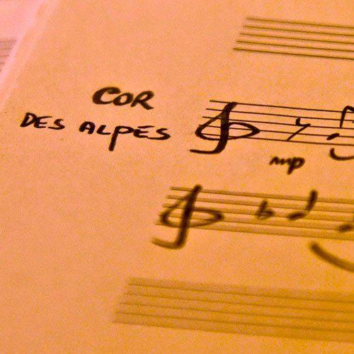 Cor des Alpes et piano