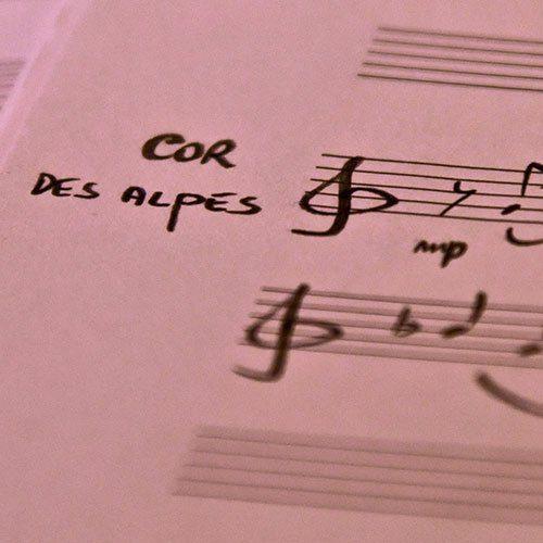 Ensembles avec cor(s) des Alpes
