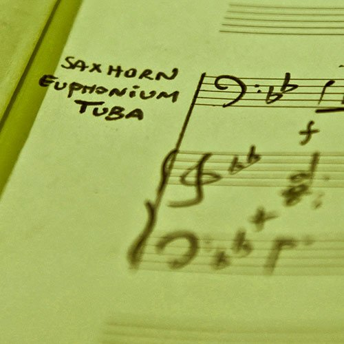Saxhorn euphonium tuba et piano