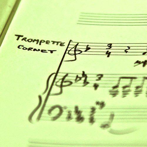 2 trompettes et piano